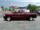 2009 Deep Ruby Red Metallic Chevrolet Silverado 1500 LT Extended Cab #49748527