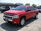 2011 Victory Red Chevrolet Silverado 1500 LT Crew Cab 4x4 #49748535