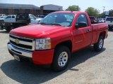 2011 Victory Red Chevrolet Silverado 1500 Regular Cab 4x4 #49748536