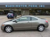 2006 Galaxy Gray Metallic Honda Civic LX Coupe #49748366