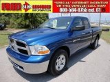 2011 Deep Water Blue Pearl Dodge Ram 1500 SLT Quad Cab #49748548