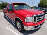 2005 Ford F250 Super Duty Red Clearcoat