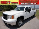 2007 Summit White GMC Sierra 2500HD Extended Cab #49748558