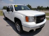2007 GMC Sierra 2500HD Extended Cab Front 3/4 View