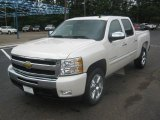 2011 White Diamond Tricoat Chevrolet Silverado 1500 LT Crew Cab #49748563