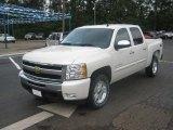 2011 White Diamond Tricoat Chevrolet Silverado 1500 LT Crew Cab 4x4 #49748564