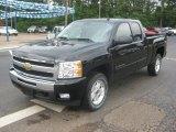 2011 Black Chevrolet Silverado 1500 LT Extended Cab 4x4 #49748568