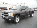 2011 Taupe Gray Metallic Chevrolet Silverado 1500 LT Extended Cab #49799389
