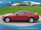 2007 Redfire Metallic Ford Mustang GT Premium Coupe #49799032