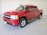 2009 Victory Red Chevrolet Silverado 1500 LTZ Crew Cab 4x4 #49798647