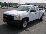2011 Summit White Chevrolet Silverado 1500 Extended Cab #49799577
