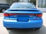 Bright Atlantic Blue Metallic Ford Escort in 2001