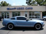 2005 Windveil Blue Metallic Ford Mustang V6 Premium Coupe #49799232