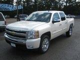 2011 White Diamond Tricoat Chevrolet Silverado 1500 LT Crew Cab #49799594