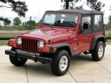 1998 Jeep Wrangler Chili Pepper Red Pearl