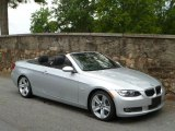 2007 Titanium Silver Metallic BMW 3 Series 335i Convertible #49799079