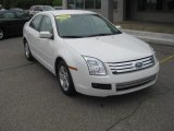 2008 White Suede Ford Fusion SE #49799251