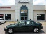 2002 Forest Green Metallic Chevrolet Cavalier LS Sedan #49799085