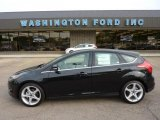 2012 Tuxedo Black Metallic Ford Focus Titanium 5-Door #49799256