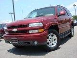 2005 Sport Red Metallic Chevrolet Tahoe Z71 4x4 #49799097
