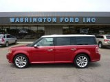 2010 Red Candy Metallic Ford Flex Limited EcoBoost AWD #49799276