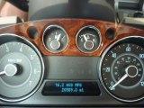 2010 Ford Flex Limited EcoBoost AWD Gauges