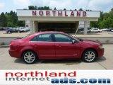 2008 Vivid Red Metallic Lincoln MKZ Sedan #49799107