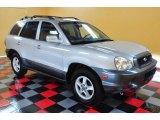 2004 Pewter Hyundai Santa Fe GLS 4WD #49799446