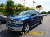 2011 Deep Water Blue Pearl Dodge Ram 1500 Big Horn Quad Cab 4x4 #49799123