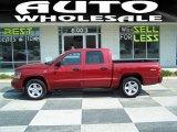2010 Inferno Red Crystal Pearl Dodge Dakota Big Horn Crew Cab 4x4 #49799315
