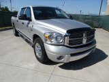 2008 Bright Silver Metallic Dodge Ram 1500 Laramie Mega Cab #49799190