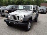 2011 Bright Silver Metallic Jeep Wrangler Sport 4x4 #49799542