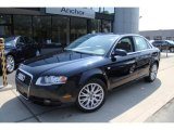 2008 Deep Sea Blue Pearl Effect Audi A4 2.0T quattro S-Line Sedan #49856196