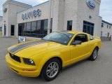 2005 Screaming Yellow Ford Mustang V6 Premium Coupe #49856207