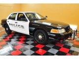 2009 Black Ford Crown Victoria Police Interceptor #49856384