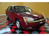 2005 Sport Red Metallic Chevrolet Malibu LT V6 Sedan #49856387