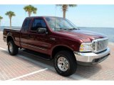 1999 Ford F350 Super Duty XLT SuperCab 4x4 Front 3/4 View