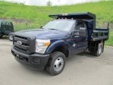 2011 Ford F350 Super Duty XL Regular Cab 4x4 Chassis Dump Truck Data, Info and Specs