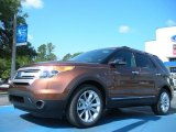 2011 Golden Bronze Metallic Ford Explorer XLT #49856104