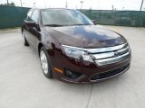 2011 Bordeaux Reserve Metallic Ford Fusion SE #49856248
