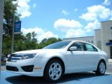 2011 White Suede Ford Fusion SE #49856113