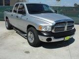 2004 Bright Silver Metallic Dodge Ram 1500 SLT Quad Cab #49856249