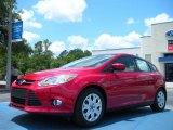 2012 Red Candy Metallic Ford Focus SE 5-Door #49856118