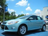 2012 Frosted Glass Metallic Ford Focus SEL 5-Door #49856119