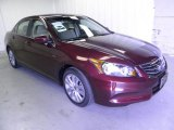 2011 Basque Red Pearl Honda Accord EX-L Sedan #49856442