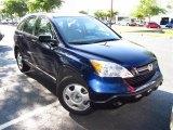 2009 Royal Blue Pearl Honda CR-V LX #49855996