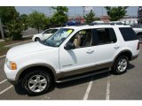2004 Oxford White Ford Explorer Eddie Bauer 4x4 #49856254