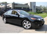2009 Crystal Black Pearl Acura TSX Sedan #49856132