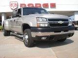 2006 Silver Birch Metallic Chevrolet Silverado 3500 LT Crew Cab 4x4 Dually #49856462