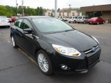 2012 Tuxedo Black Metallic Ford Focus SEL 5-Door #49856137
